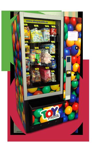 Toymatik expendedora de juguetes
